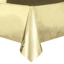 מפת שולחן מטאלית - זהב