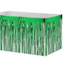 חצאית שולחן פרנזים ירוק