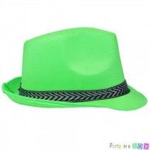 כובע ג'נטלמן ירוק זוהר