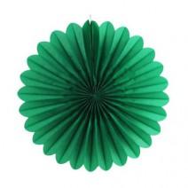 מניפת נייר ירוקה