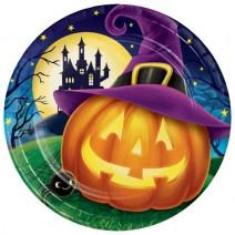 צלחות גדולות Halloween