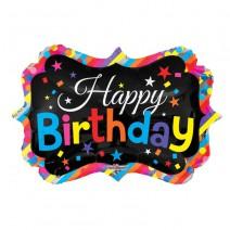 בלון מיילר מסגרת Happy Birthday
