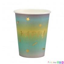 כוסות נייר יום הולדת אומברה