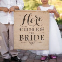 שלט יוטה Here Comes the Bride