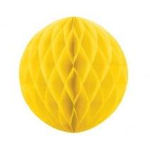 """כדור כוורת 25 ס""""מ - צהוב"""