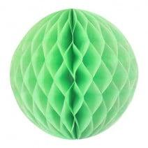 """כדור  כוורת 30 ס""""מ - ירוק ליים"""