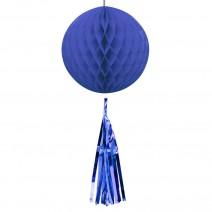 כדור נייבי עם טאסל כחול