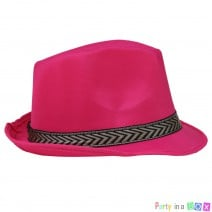 כובע ג'נטלמן פוקסיה