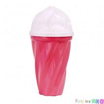 כוס גלידה ורודה