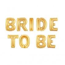 בלוני מיילר Bride to Be זהב