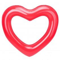 מתנפח לב אדום לבריכה