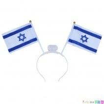 קשת דגלי ישראל עם אור