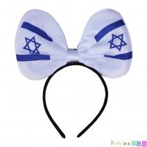 קשת פפיון גדולה דגל ישראל