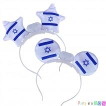 קשתות צורות אור דגל ישראל