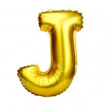 בלון מיילר זהוב לניפוח עצמי - J