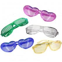 משקפיים ענקיות תריס מטאלי