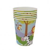 כוסות חגיגה בג'ונגל