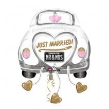 בלון מיילר מכונית Just Married