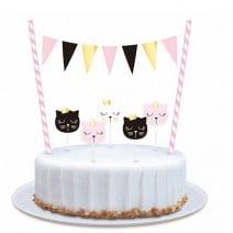 ערכה לקישוט עוגה חתלתולים