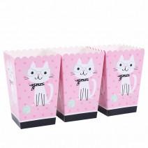 קופסאות פופקורן חתלתולים