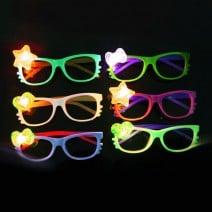 משקפיים זוהרות