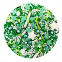 סוכריות לקישוט מיקס ירוק