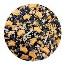 סוכריות מיקס פנטזיה שחור זהב