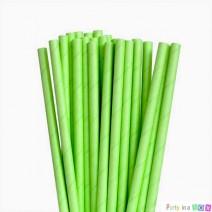 קשיות נייר חלקות - ירוק ליים
