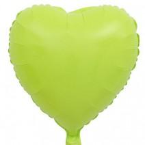 בלון מיילר לב ירוק מקרון