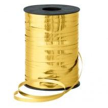 סרט לקשירת בלונים - זהב מטאלי