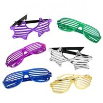 משקפי תריס מטאליים צבעוניים