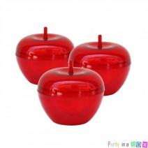 מיני קופסאות תפוח אדומות