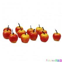מיני תפוחים אדומים לקישוט