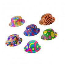 מיני כובעי מסיבה צבעוניים