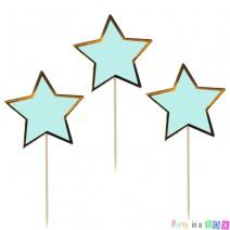 טופרים כוכבים מנטה זהב