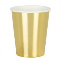 כוסות גדולות זהב מטאלי
