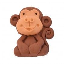 קישוט מבצק סוכר קוף