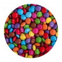 מיני סוכריות עדשים צבעוניות