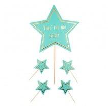 סט טופרים My Star - מנטה
