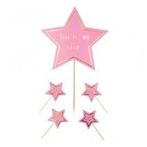 סט טופרים My Star - ורוד