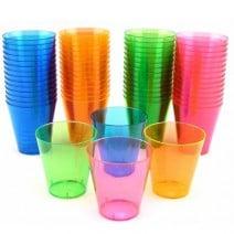 כוסות שוט צבעוניות