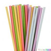 קשיות נייר חלקות צבעי פסטל