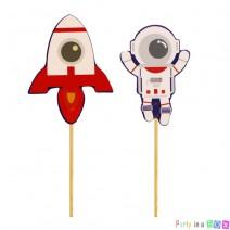 טופרים אסטרונאוט וחללית