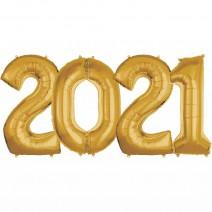 סט בלונים 2021 לניפוח באוויר