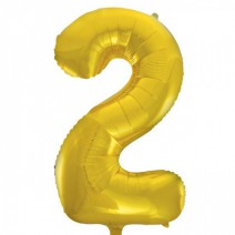 בלון מיילר זהב לאוויר - מספר 2
