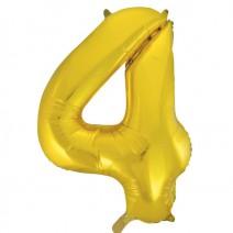 בלון מיילר זהוב - מספר 4