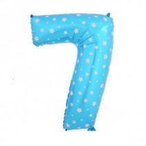 בלון מיילר כחול כוכבים - ספרה 7