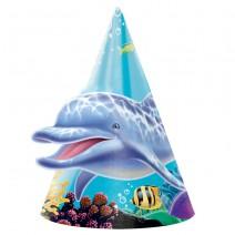 כובעי מסיבה הכחול הגדול