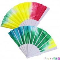 מניפת פלסטיק אומברה צבעוני