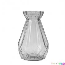 אגרטל זכוכית שקוף
